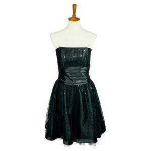 Vintage 80s Jessica McClintock Dress 9